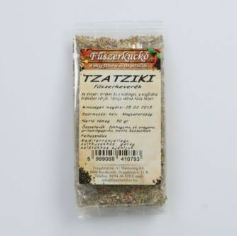Fűszerkuckó Tzatziki fűszerkeverék 30g